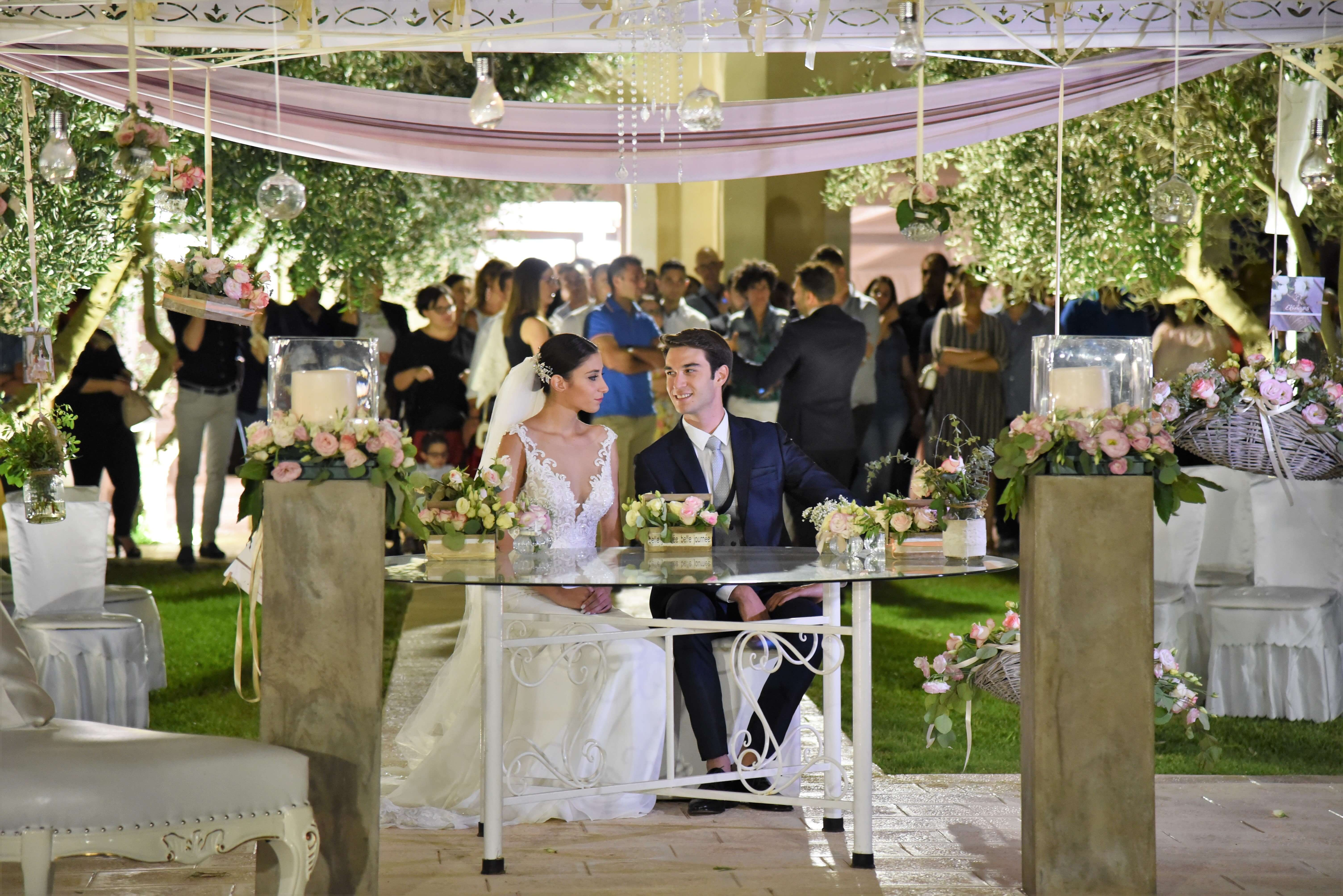 Giardini francesi – Sala Ricevimenti a Lecce – Matrimonio in Puglia